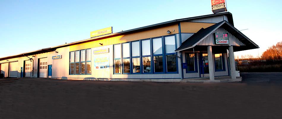 Polar Rengas KL Service Partner julkisivu