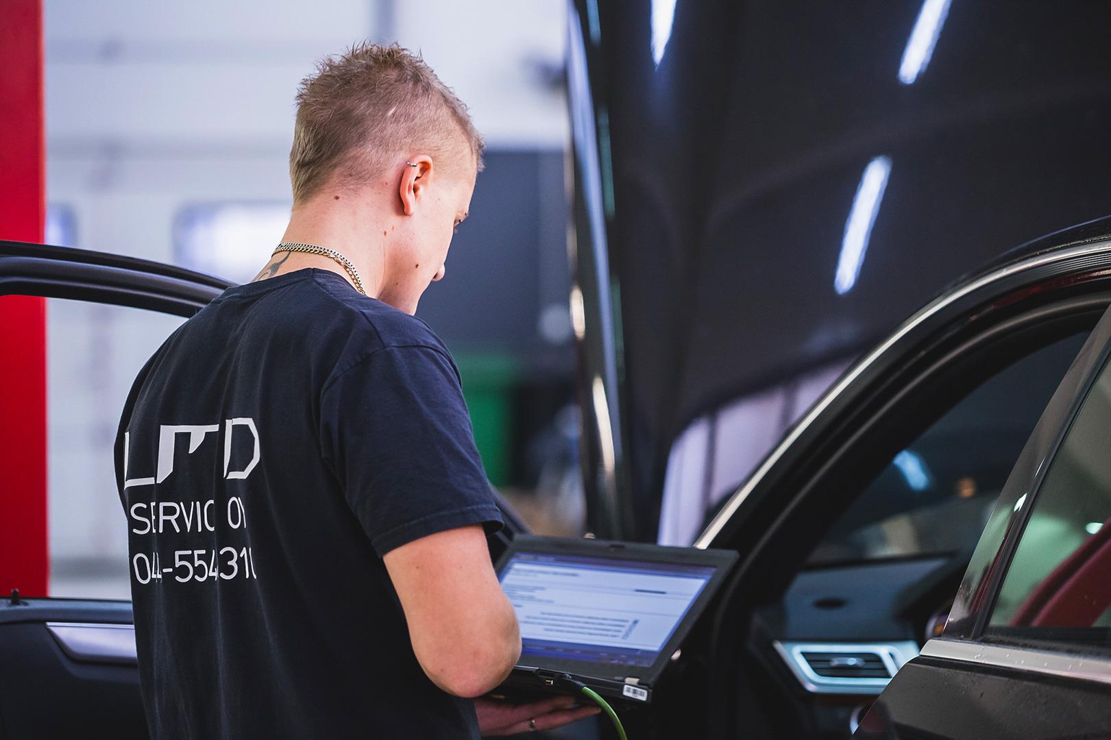 KL-ServicePartner autohuolto